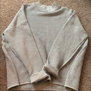 Gray sparkly sweater